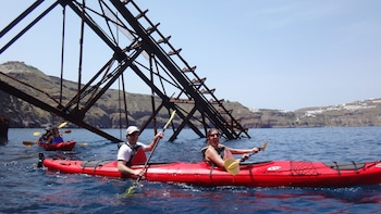 Santorini South Discovery Introductory Sea Kayak Tour