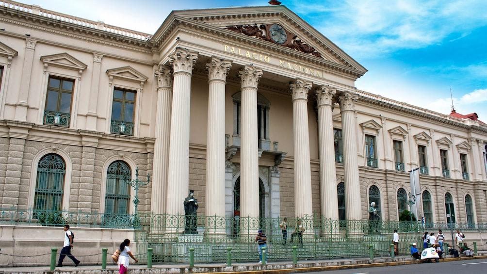 Show item 3 of 5. The Palacio Nacional in San Salvador