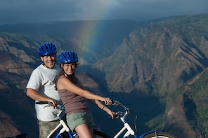 Bike Down Waimea Canyon