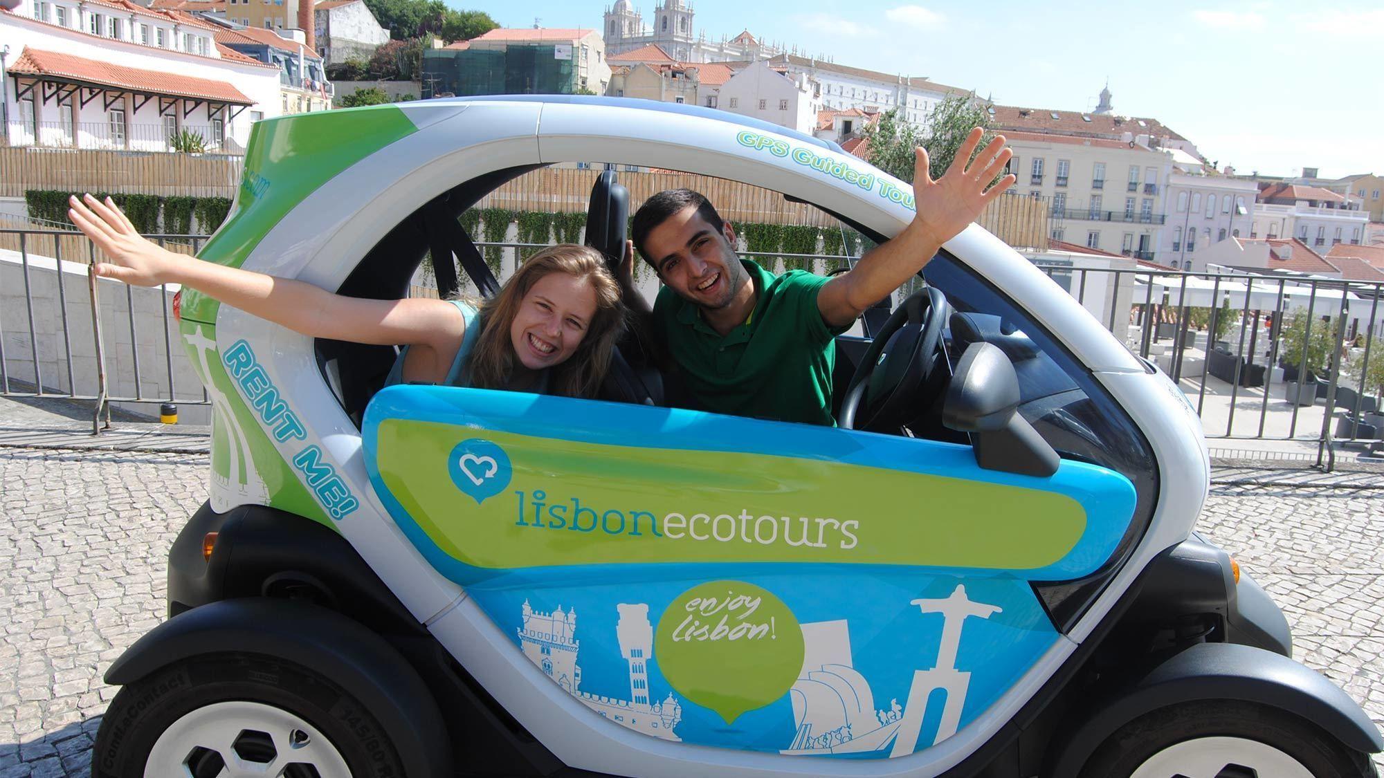 Couple on the Lisbon Eco Tour