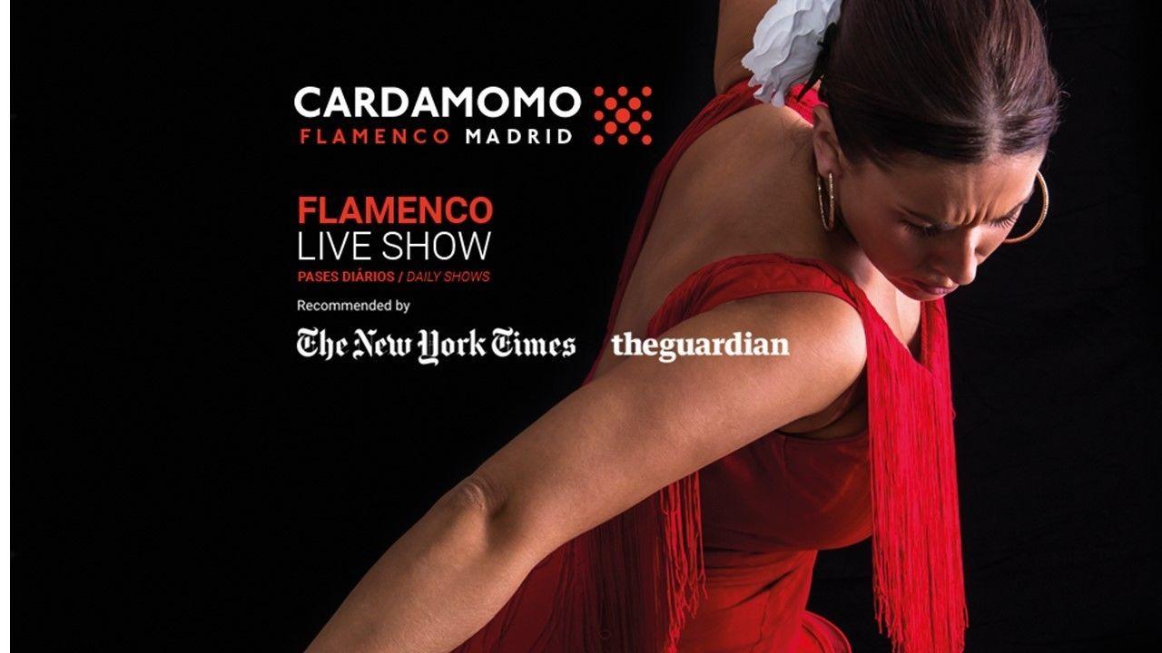 Flamenco-Show im Cardamomo Tablao