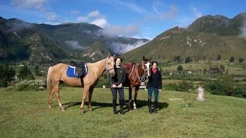 Full-Day Pululahua Volcano Horseback Ride & Mitad del Mundo Tour