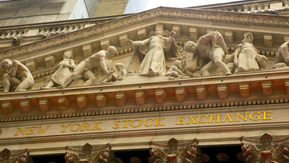 Show item 5 of 5. New York Stock Exchange facade