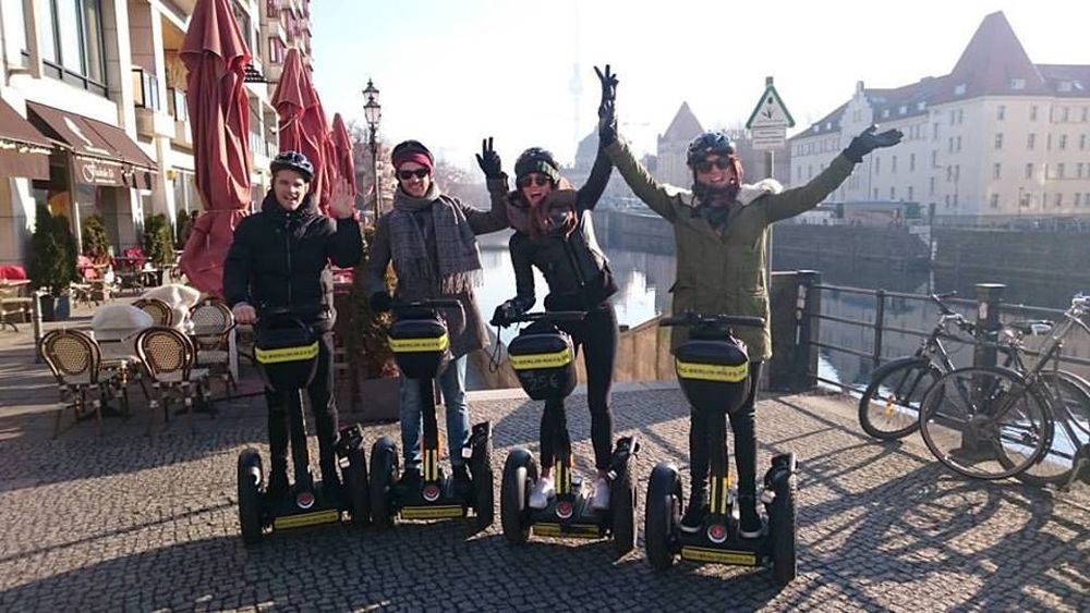 Checkpoint Charlie Segway tour