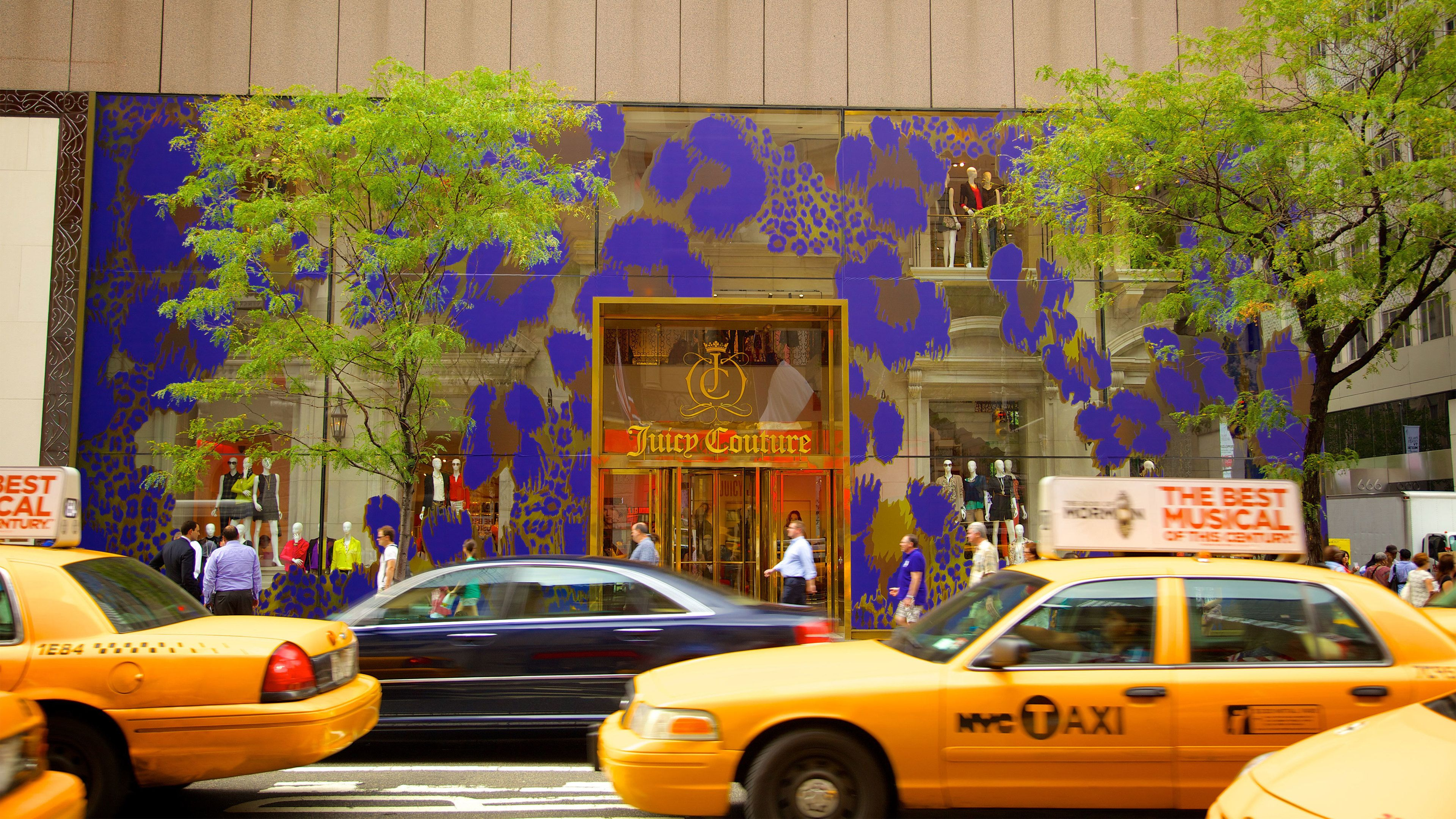 Store on Fifth Avenue in New York