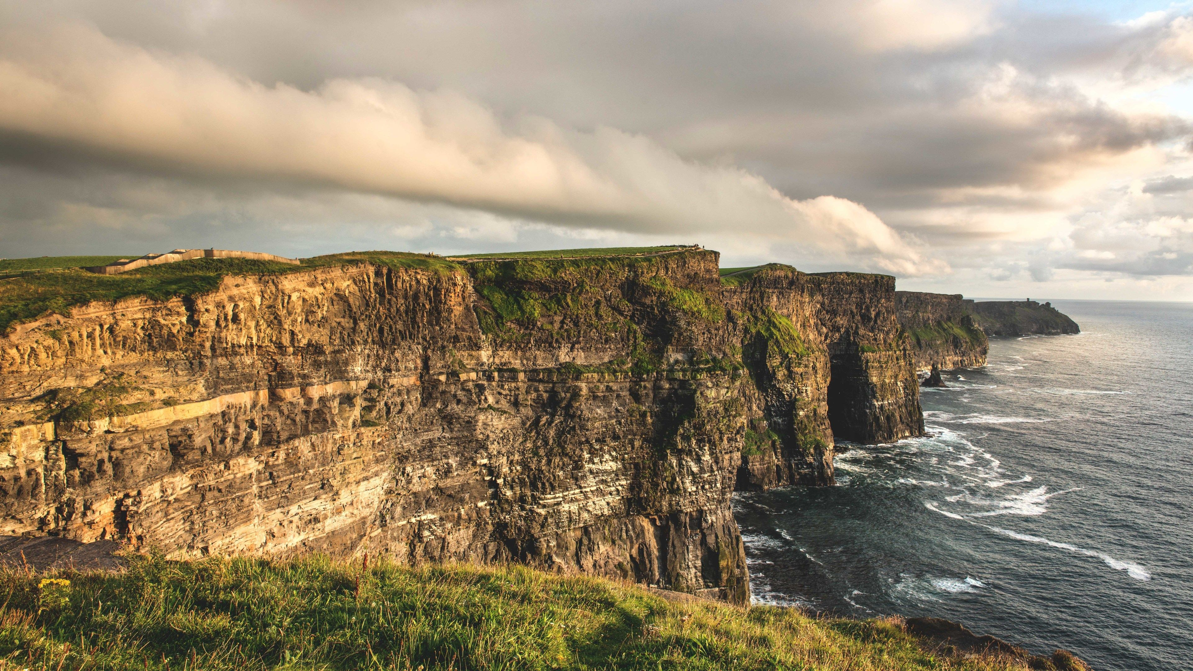 Beautiful view of Cliffs of Moher.