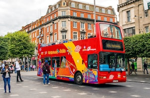 Kustexcursie: hop-on, hop-off-bustour door Dublin