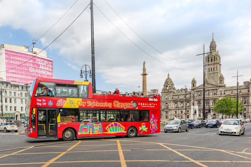 Shore Excursion: Glasgow Hop-On Hop-Off Bus Tour