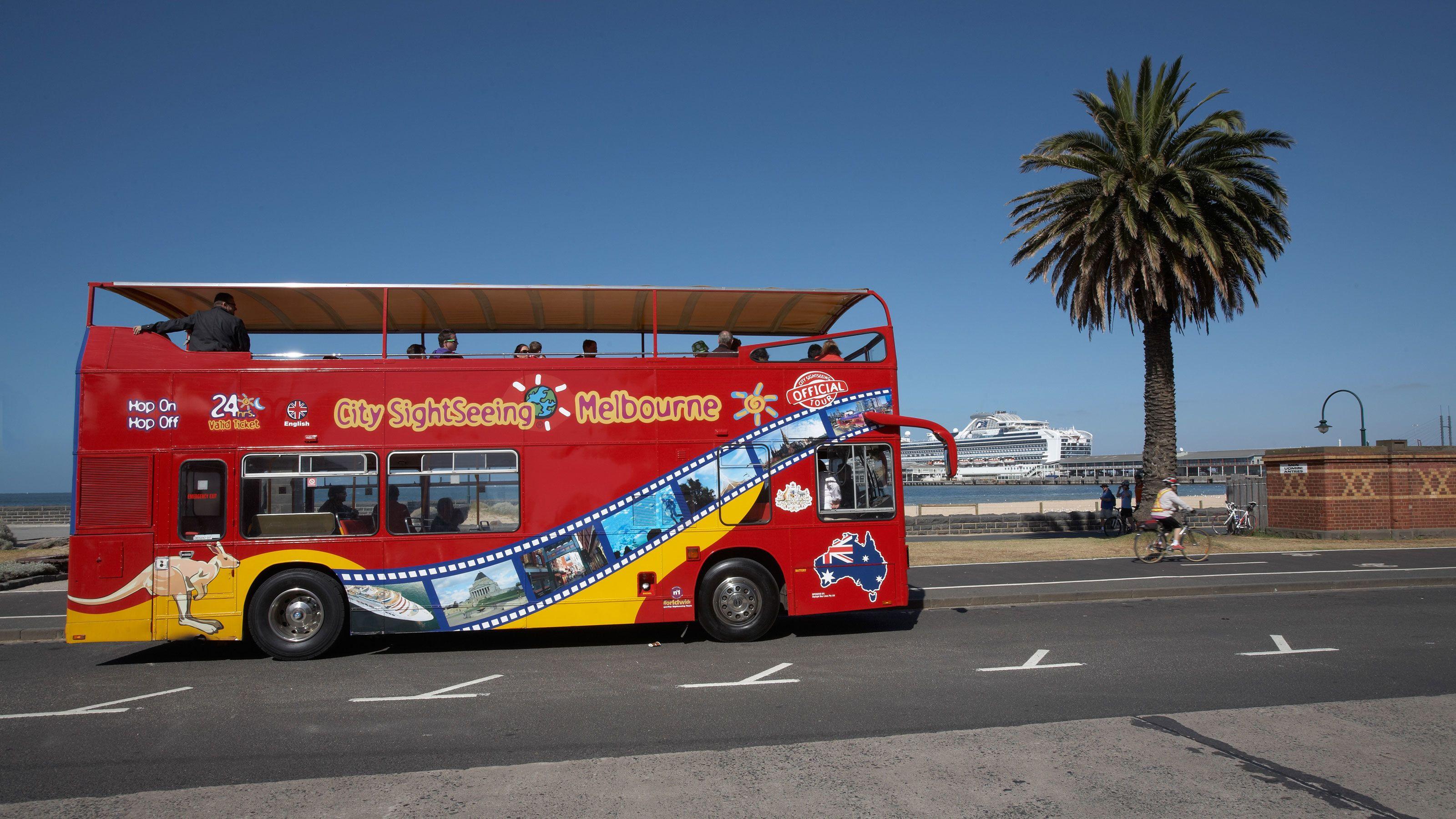 Excursión por la costa: visita por Melbourne en autobús turístico