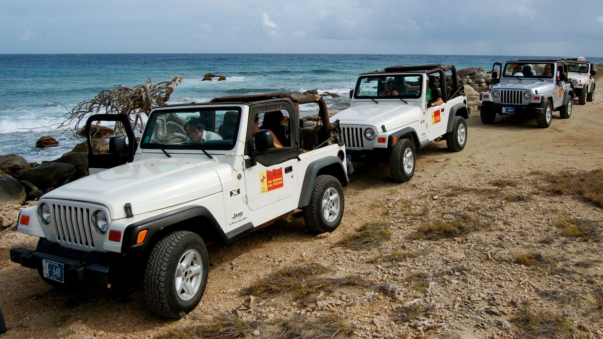 Dagexcursie jeepsafari