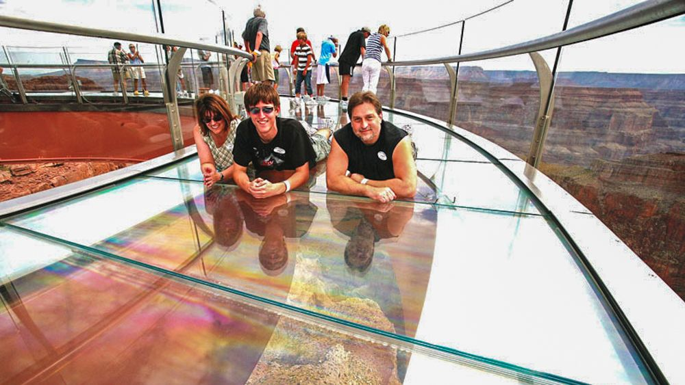 Grand Canyon Skywalk Adventure Tour from Flagstaff