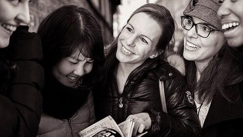 group of friends in Paris