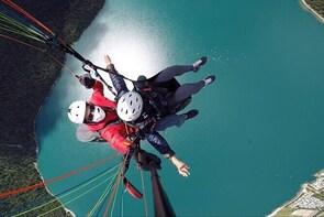 Paragliding Tandem Flights in Engadin
