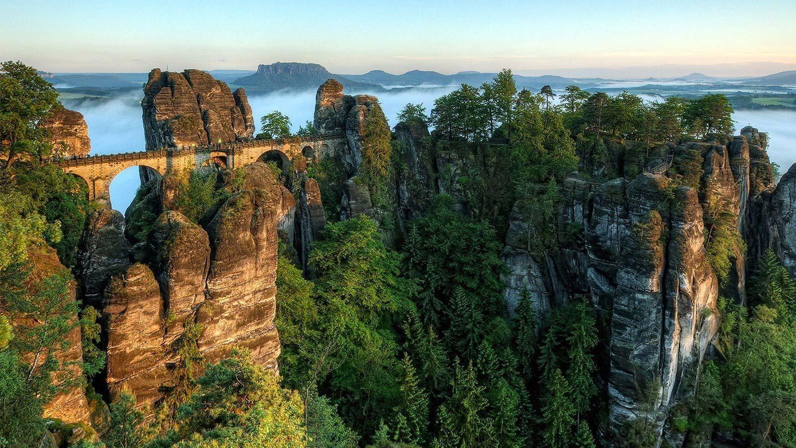 A day-long Bohemian & Saxon Switzerland tour from Prague