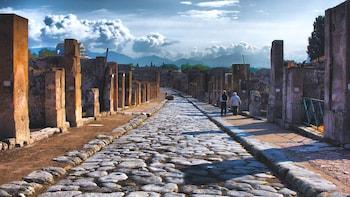 Visite privée des ruines de Pompéi