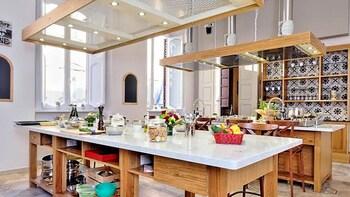 Cours de cuisine italienne et repas de 4 plats dans un palais du XVIIe sièc...