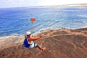 Complete Excursion and Flight on the Zipline Cabo Verde