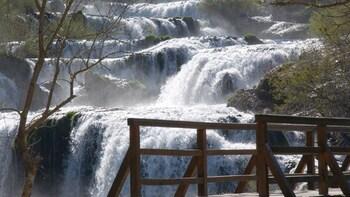 Heldagsutflykt till nationalparken Krka från Split eller Trogir