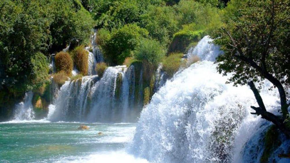 Show item 1 of 8. Krka Waterfalls