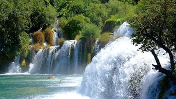 Day trip to Krka Waterfalls from Split or Trogir