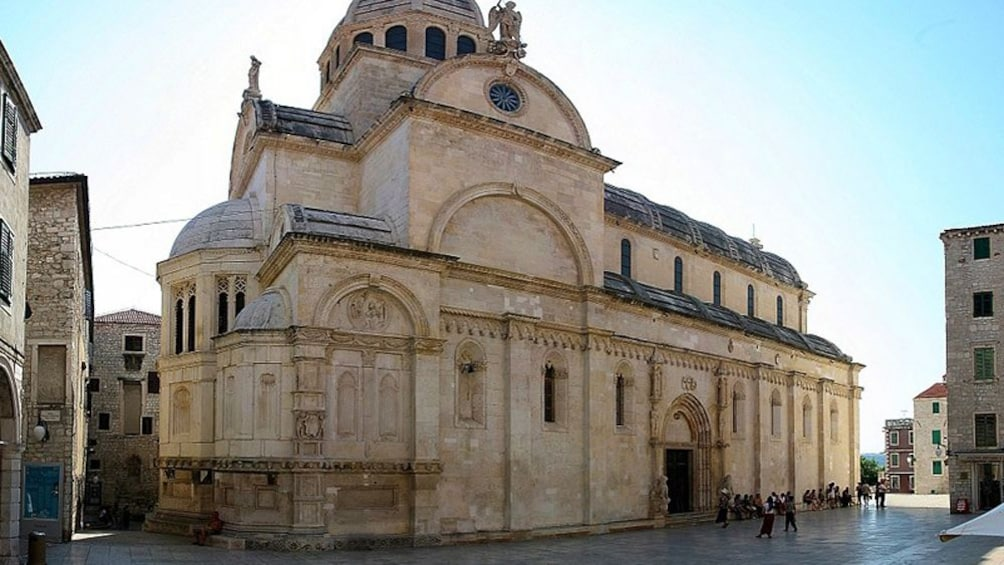 Show item 4 of 8. St. James Cathedral in Sibenik