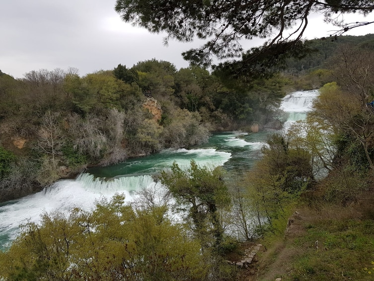 Show item 5 of 8.   Krka Waterfalls with entry ticket from Split or Trogir