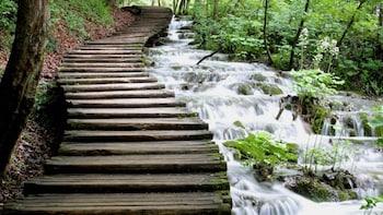 Heldagsutflykt till nationalparken Plitvicesjöarna