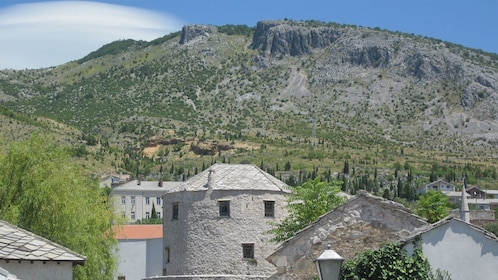 View of mountain about Mostar, Bosnia and Herzegovina
