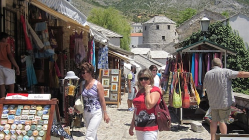 Group on the Day Trip to Mostar & Medjugorje