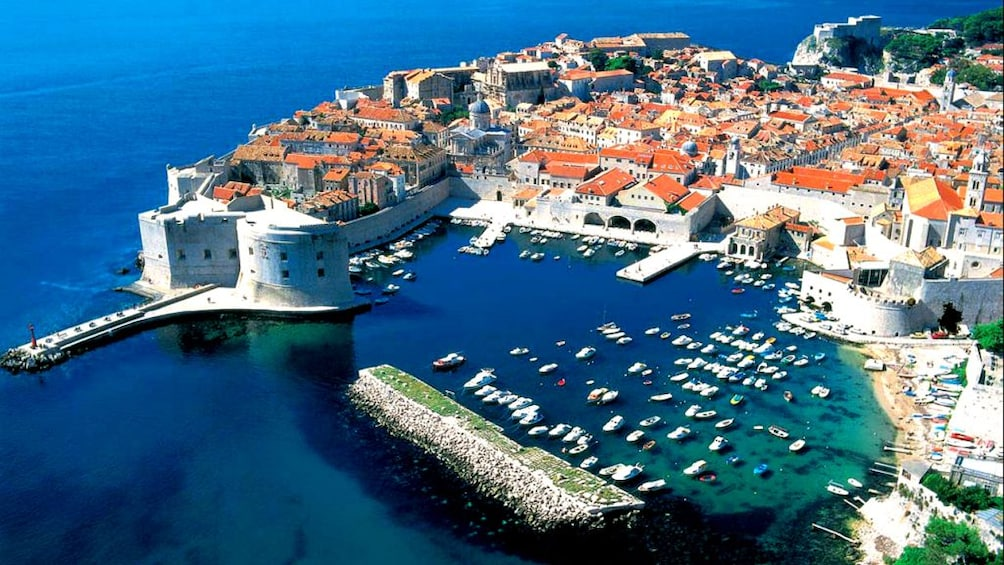 Show item 2 of 8. Aerial view of Dubrovnik