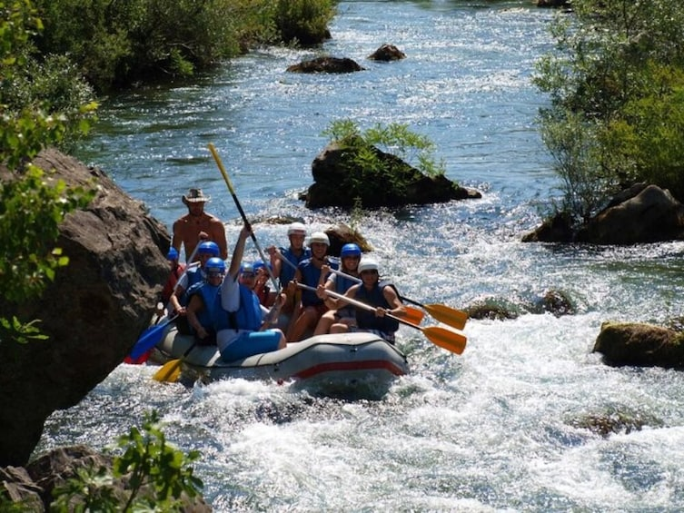 Show item 5 of 8. Water Rafting on the Cetina River from Split or Trogir
