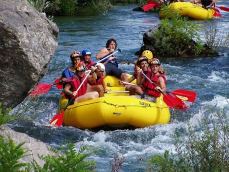 Show item 4 of 8. Water Rafting on the Cetina River from Split or Trogir