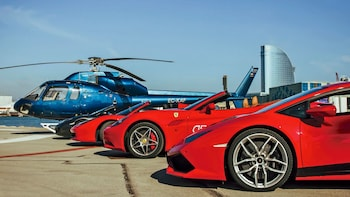Ferrari Driving & Helicopter Flight Experience in Barcelona
