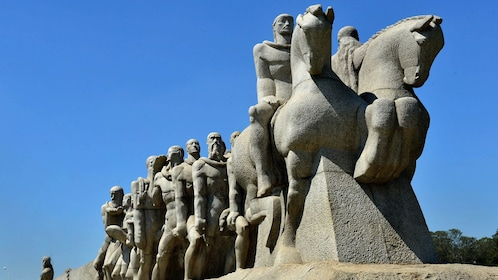 large stone sculpture in Brazil