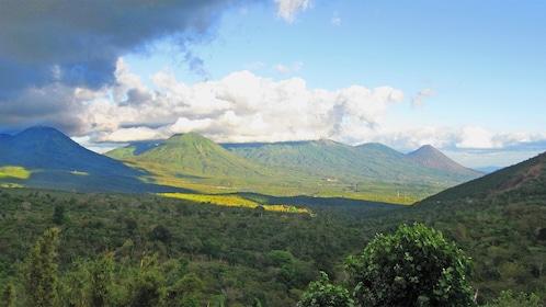 Beautiful landscape view of El Salvador