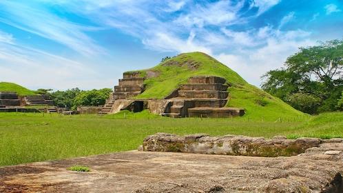 Scenic view of a historic site in El Salvador