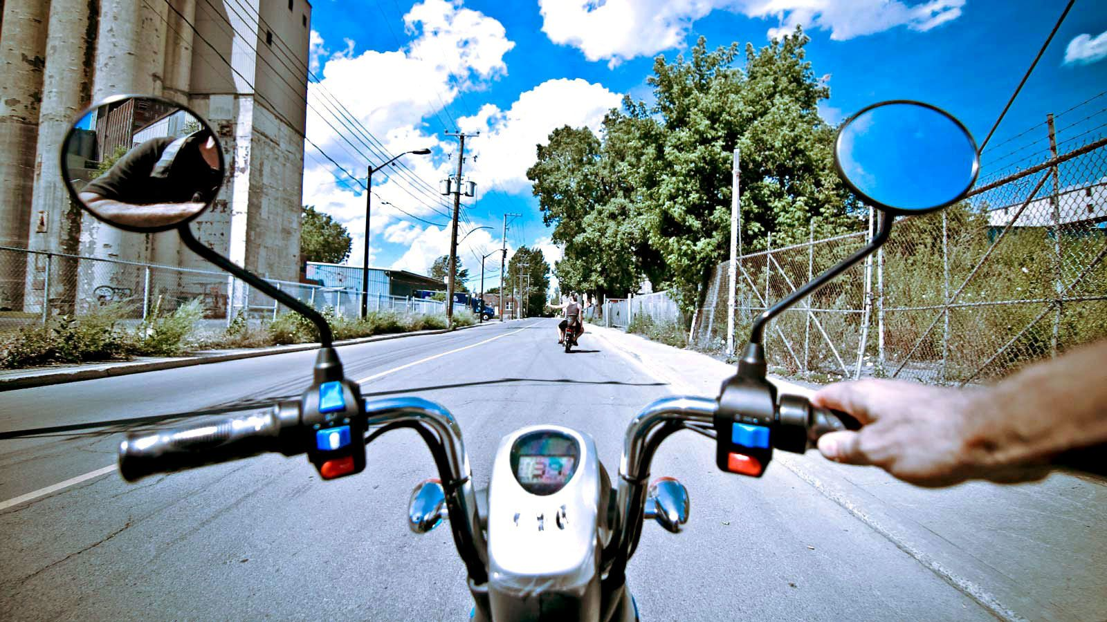 Electric Scooter Tour of Plateau, Mile End & Old Montreal