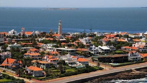 Panoramic city view of Montevideo, Uruguay