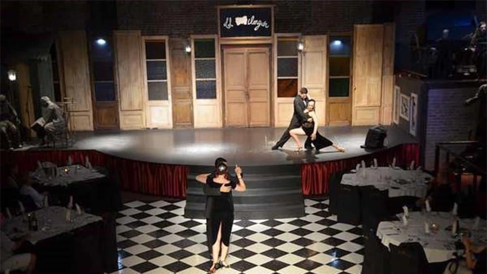 Ver elemento 3 de 4. Dancers at the Dinner Show in Montevideo, Uruguay