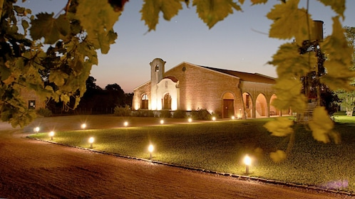 Night view of the Bodega Juanico Wine Tasting & Tour in Uruguay
