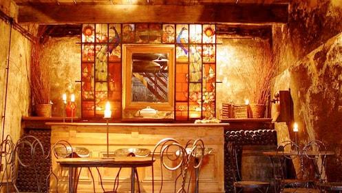 Seating area on the Bodega Juanico Wine Tasting & Tour in Uruguay