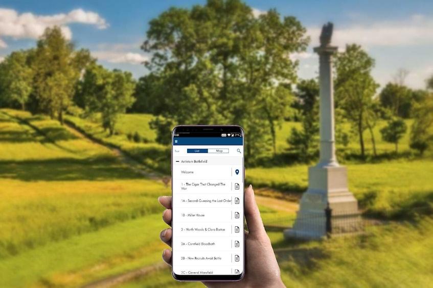 Show item 3 of 10. Antietam National Battlefield Self-Guided Driving Tour