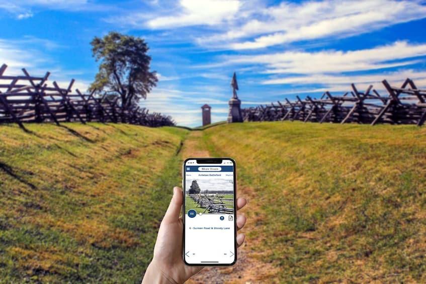 Show item 4 of 10. Antietam National Battlefield Self-Guided Driving Tour