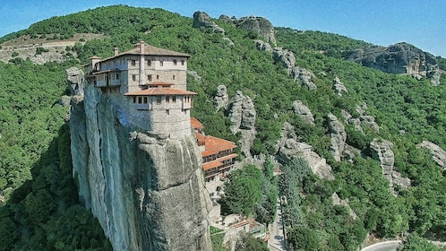 building on top of mountain