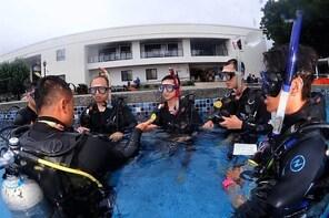 Kenting Taiwan Diving-PADI International Diving License Open Water Chinese ...