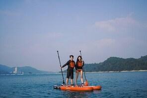 Sun Moon Lake Stand Up board Exploring