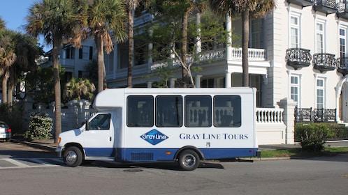 Tour van in Charleston