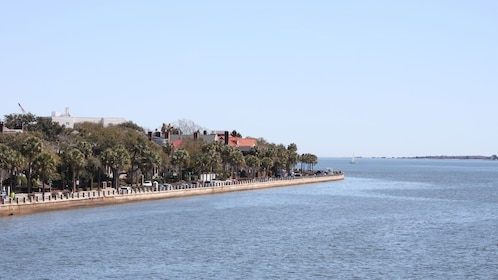 View out over water in Charleston
