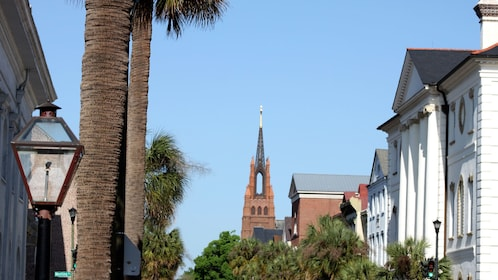 View of Broad street in Charleston