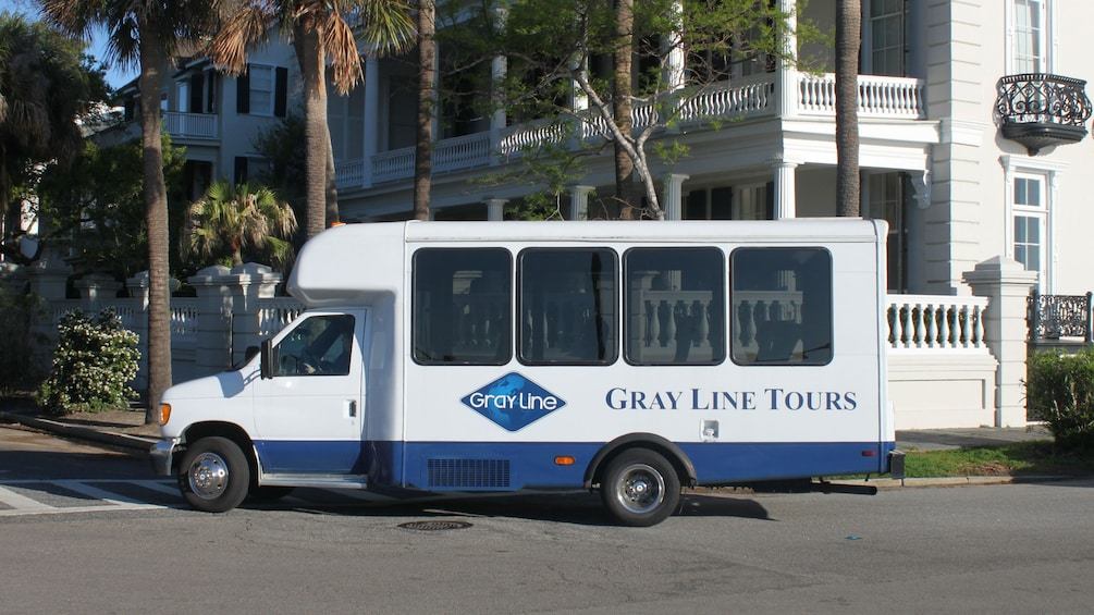 Show item 5 of 9. Gray Line tour bus in Charleston